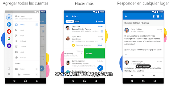 Microsoft Outlook para Android