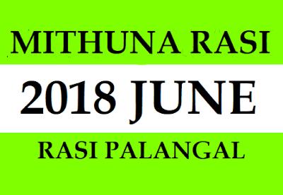 2018 Mithuna Rasi Phalalu
