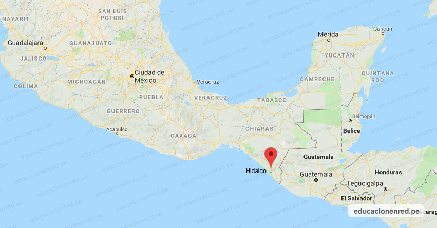 Temblor en México de Magnitud 5.7 (Hoy Sábado 01 Febrero 2020) Terremoto - Sismo - Epicentro - CD. Hidalgo - Chiapas - CHIS. - SSN - www.ssn.unam.mx