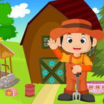 G4K Cute Little Farmer Rescue Game