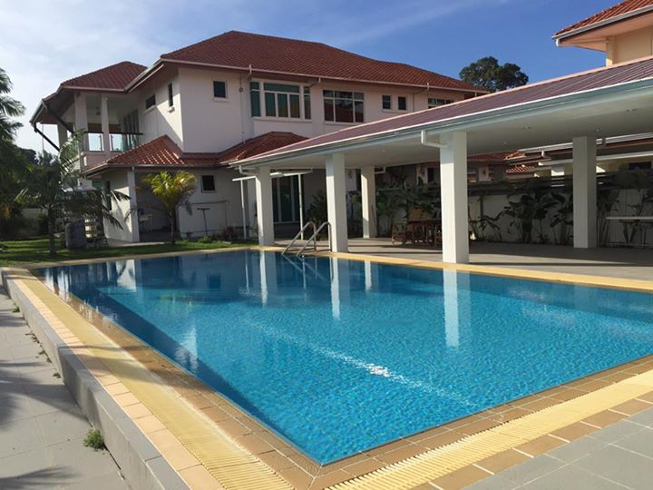 House with Swimming Pool in Miri City FOR RENT - Miri ...