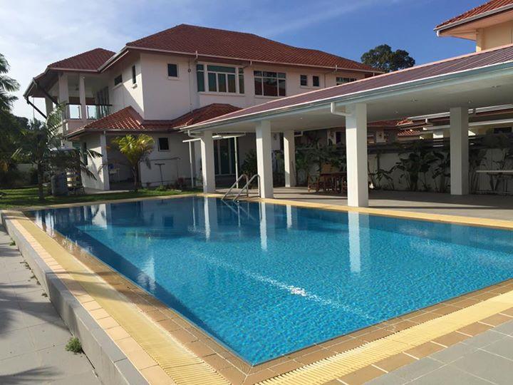 Pool House Inside