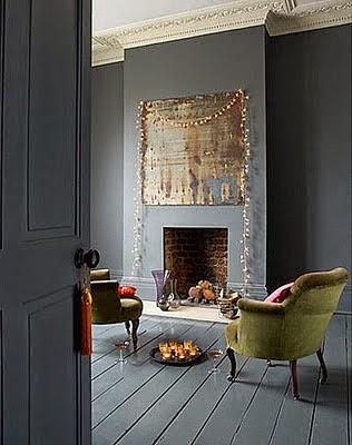 Una Navidad en gris... decoración