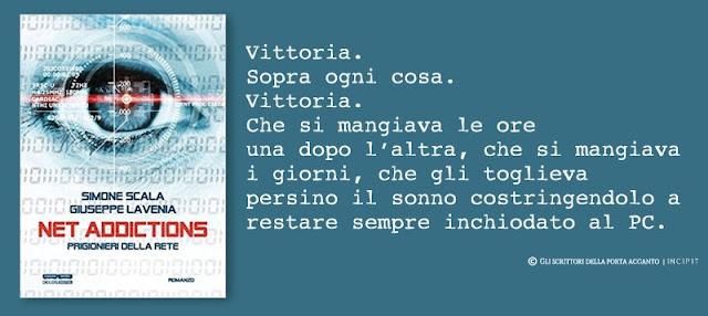 Net Addictions. Prigionieri della Rete, di Simone Scala e Giuseppe Lavenia - Copertina