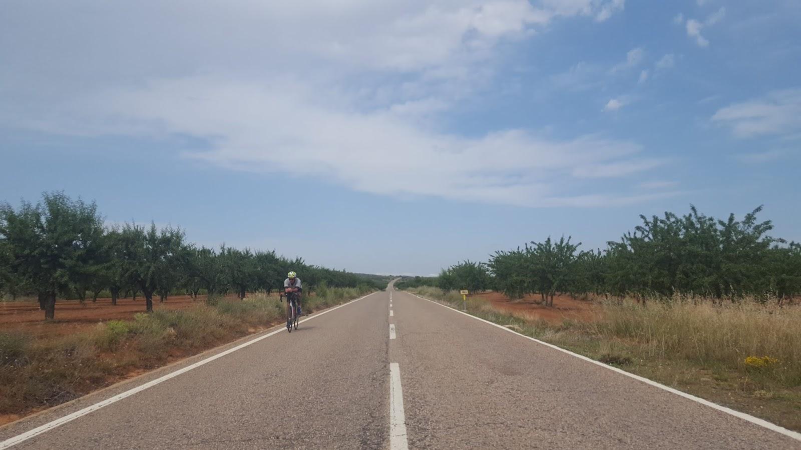 Cycling in Spain, Alcublas, Valencia