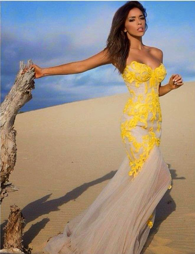 Concierge4fashion The Most Beautiful Girl In The World: Concierge4Fashion: Yellow & Elegant