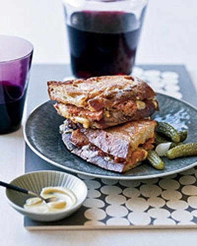 DREAMING OF PALM TREES: Fancy Grilled Cheese (or Simple