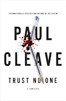 Trust No One by Paul Cleave book cover and review