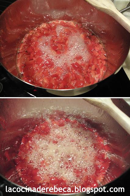 Receta de mermelada de pimientos rojos 03