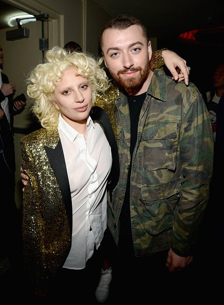 "Mira las fotos de Lady Gaga, Justin Bieber y Sam Smith juntos en el ""Saint Laurent Fashion"""