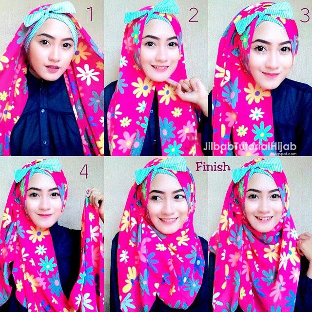 Tutorial Cara Memakai Hijab Modern yang Unik dan Cantik ...