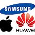 چینی کمپنی 'ہواوے' کا ایپل اور سام سنگ کو ٹف ٹائم