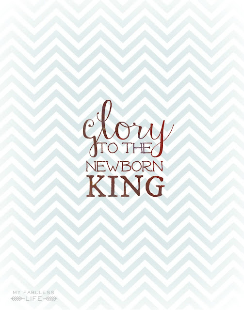 Free Printable from My Fabulous Life