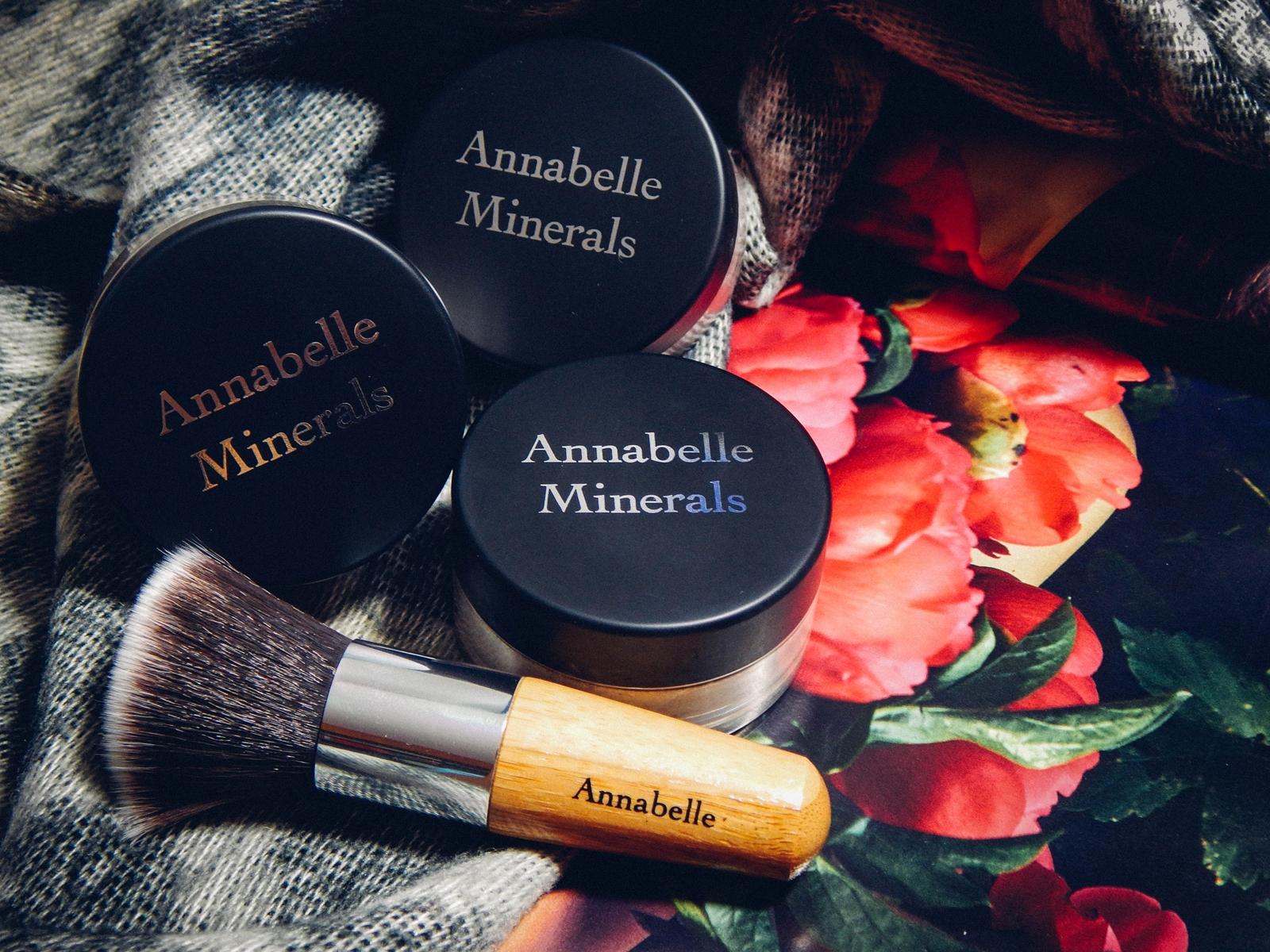 001_annabelle minerals kosmetyki mineralne zestaw matujący korektor podkład róż gratis pędzel jak używać kosmetyków mineralnych recenzja melodylaniella