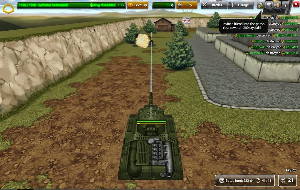 Online Tanks