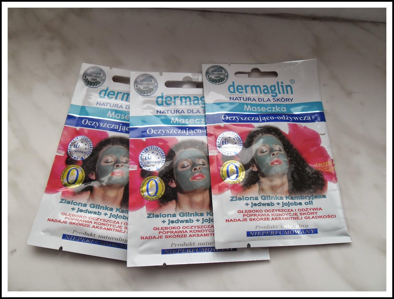 Maseczka oczyszczająco-odżywcza dermaglin-recenzja
