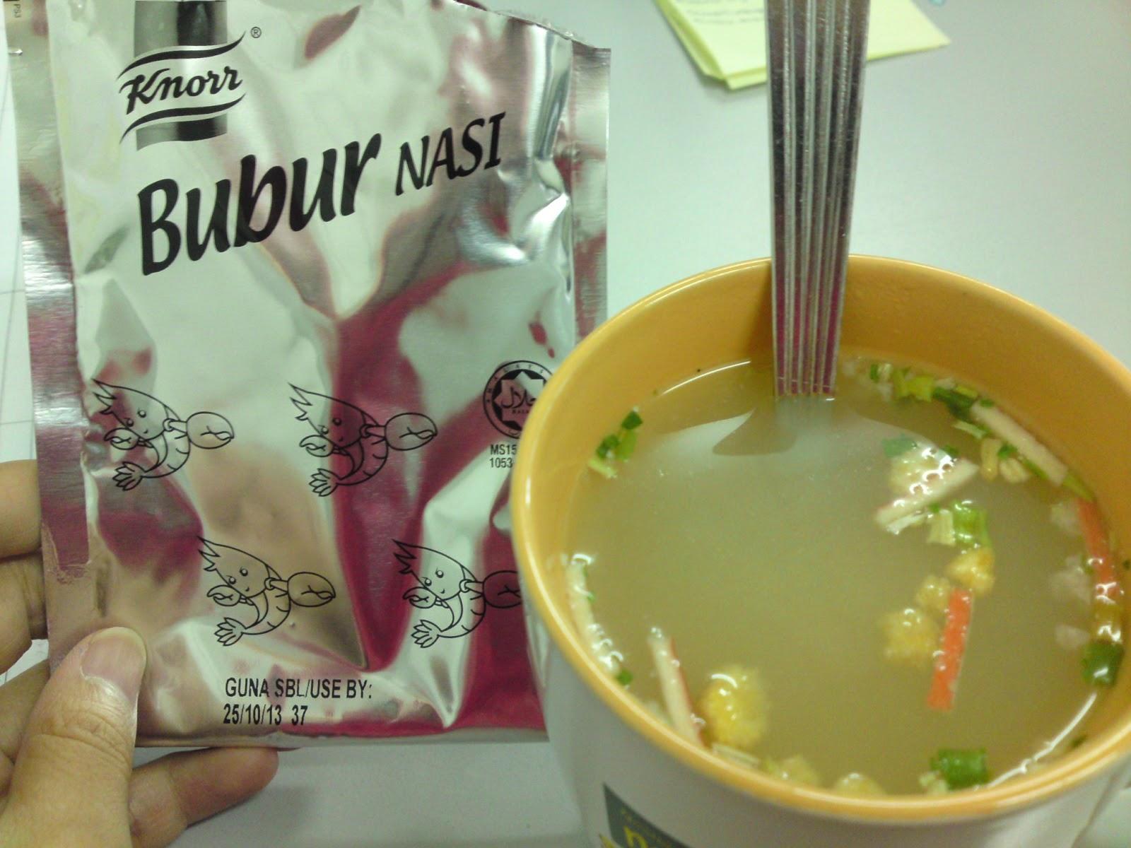 Dannia Addriana: BuBur Nasi Knorr