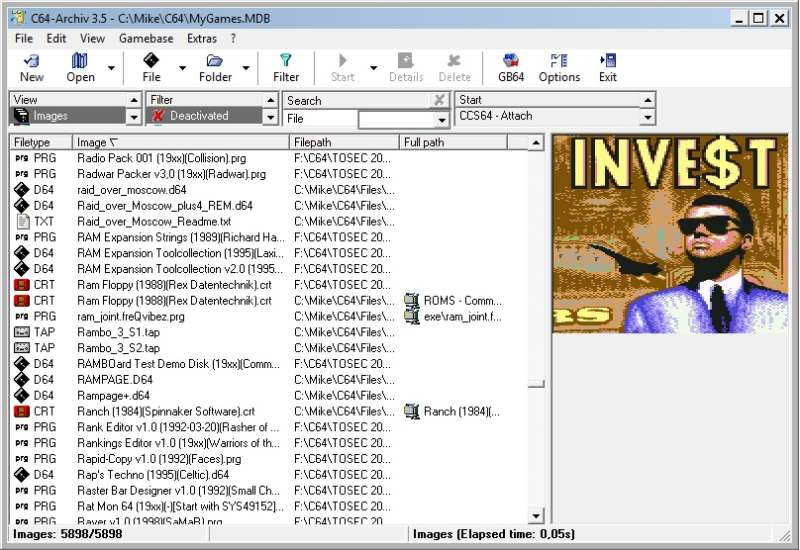 EmuCR: C64-Archiv