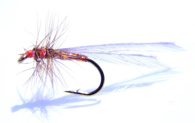 Orange Termite Patterns for Trout
