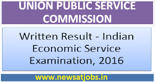 upsc+written+result+indian+economics+service+2016