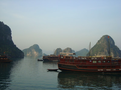 Boats on Halong Bay - Vietnam