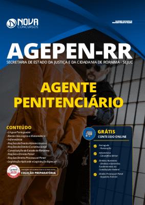 Apostila Concurso AGEPEN RR 2020 Agente Penitenciário Grátis Cursos Online