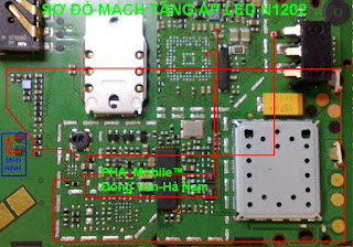 Led light Problem Solution Nokia 1202    Follow this picture you can solve your nokia 1202 Led light problem Solution.