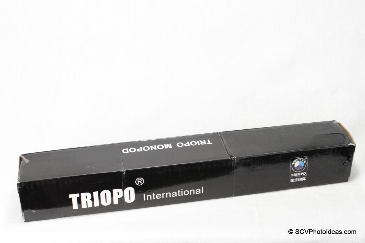 Triopo GL-70 Carbon Fiber Monopod - box