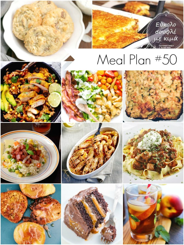 Weekly Meal Plan - Delicious and healthy recipes for all