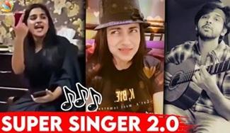 Nadikarkalin Real Voice   Trisha, Dhruv Vikram, Vijay Tv, Super singer, Tamil Actress