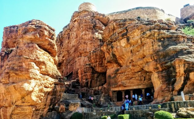 The stunning Badami cave temples of Karnataka
