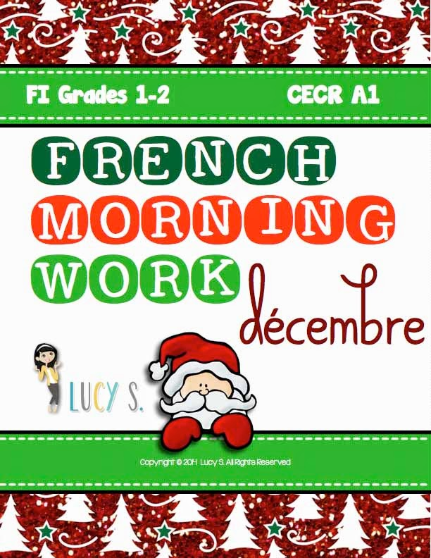French Language Morning Work - December