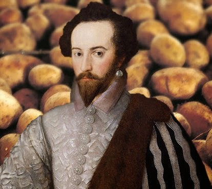Walter Raleigh, potatoes and tobacco? Just another historical misconception.