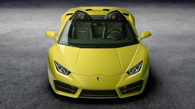 Lamborghini Huracán LP 580-2 Spyder 2017 - Con una potencia de 580CV