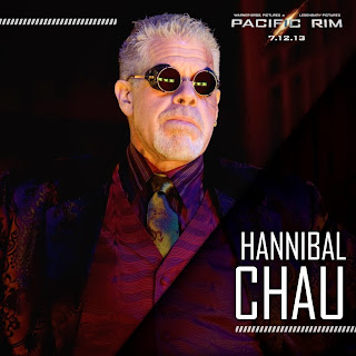 Ron Perlman as Hannibal Chau in Guillermo del Toro's Pacific Rim (2013)