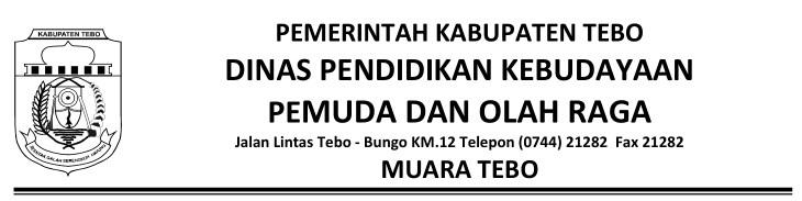 Alamat Dinas Pendidikan Kabupaten Tebo | Alamat Dinas ...