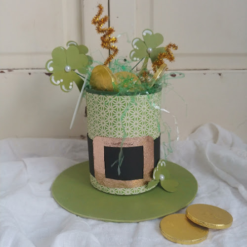 Upcycled Tin Can St. Patrick's Day Hat