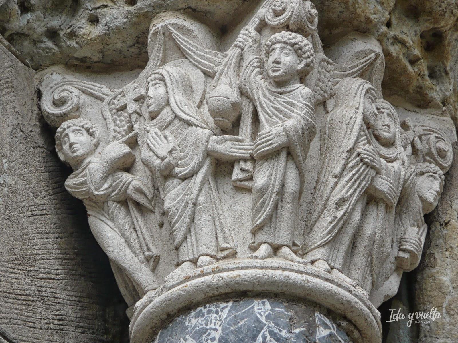 Capitel en Saint-Sernin en Toulouse