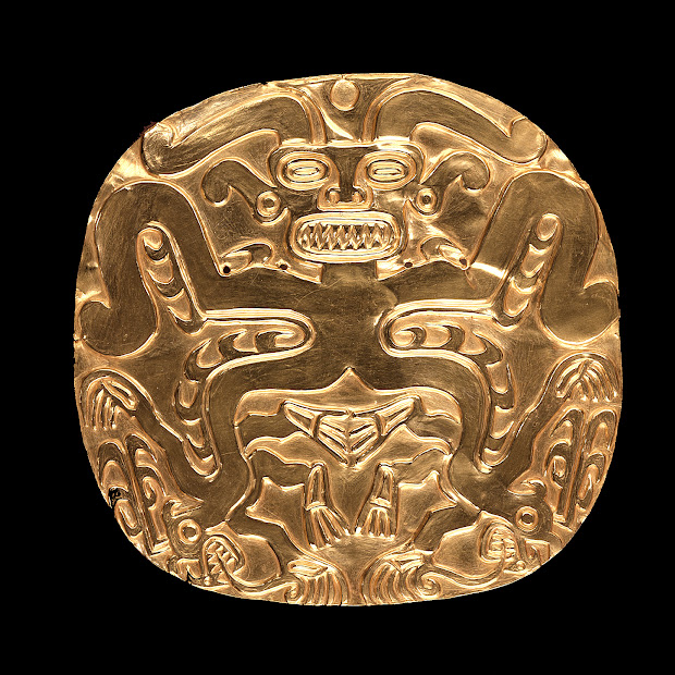 Ancient Columbian Gold Artifacts