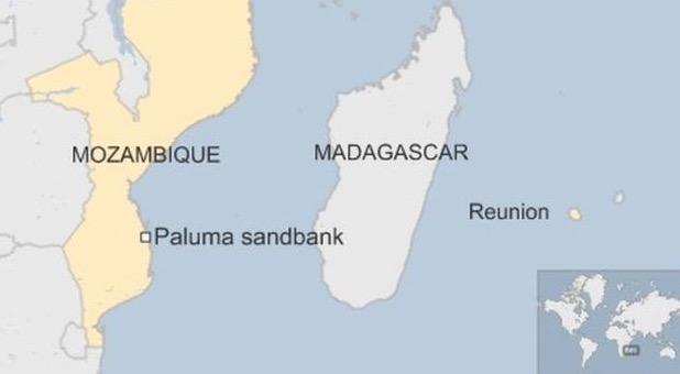 Gambar Serpihan MH370 yang Ditemui di Mozambique Tersebar
