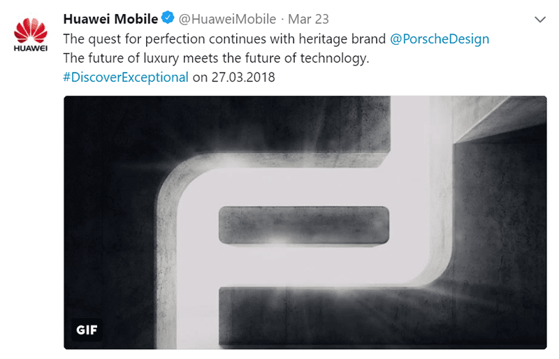 Huawei will launch a P20 Porsche Design variant too!