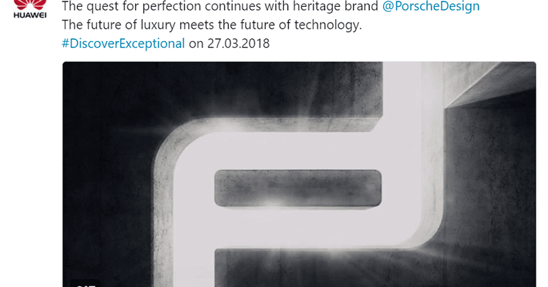 huawei will launch a p20 porsche design variant too. Black Bedroom Furniture Sets. Home Design Ideas