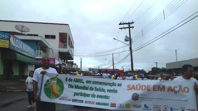 Sete Barras promove Saúde em Ação durante comemorações do Dia Internacional da Saúde
