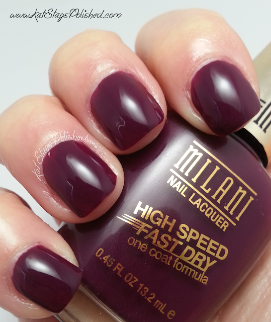 Milani High Speed Fast Dry - Sangria Rush