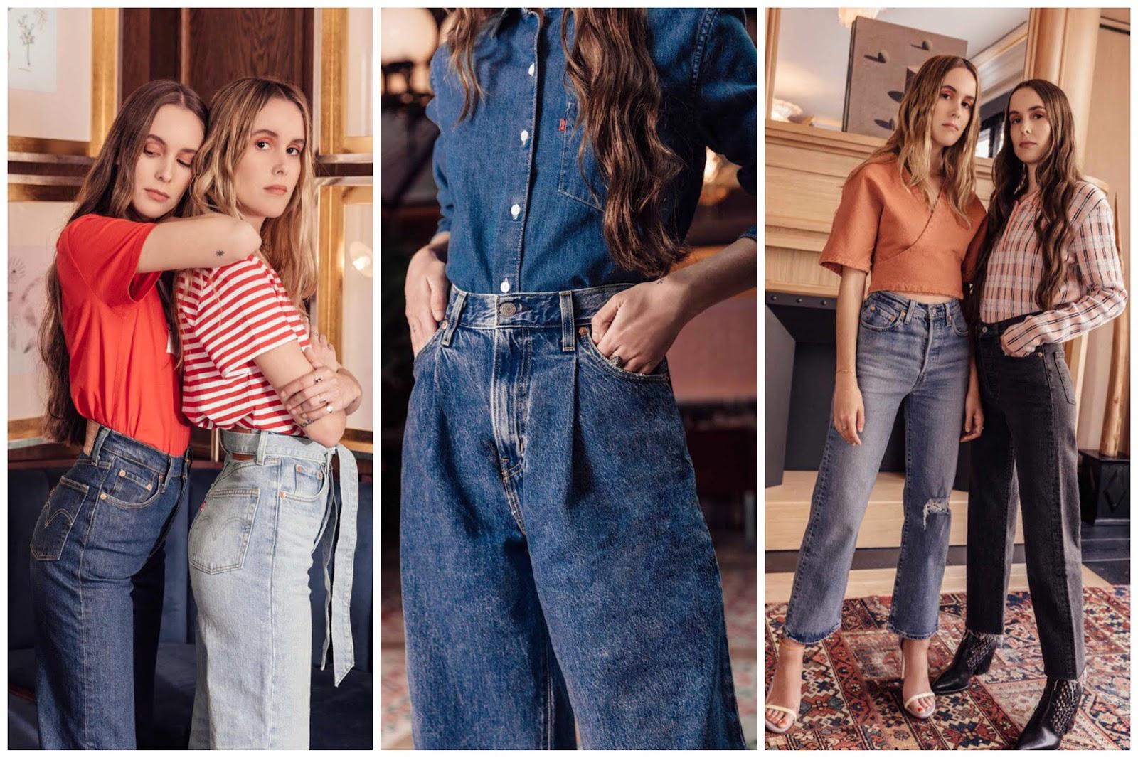 jeans de cintura alta - tendencia 2019