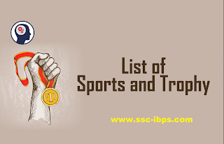 List of Sports and Trophies PDF Download