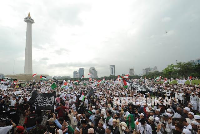 Beda Aksi 212 dengan Aksi Bela Palestina