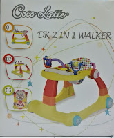 Baby Walker Cocolatte 2 in One