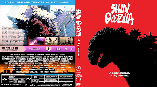 Shin Godzilla Bluray Cover