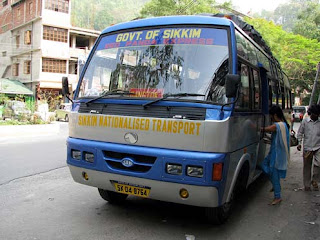 sikkim snt bus